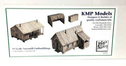 O Scale Saw Mill Outbuildings Craftsman Kit. Logging.important, See Description.