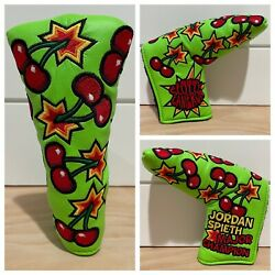 Scotty Cameron Headcover 2015 Jordan Spieth Masters Cherry Bombs Putter Cover