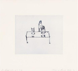 Tracey Emin Signed Print Closed 2013