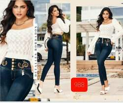 Jeans Colombianos K988 Authentic Colombian Push Up Jeans Jean Levanta Cola