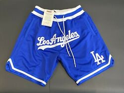Just Don X Mitchell And Ness X Dodgers, Blue New And Authentic - Size Medium M