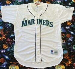 Vintage Russell Athletic Mlb Seattle Mariners Alex Rodriguez Baseball Jersey