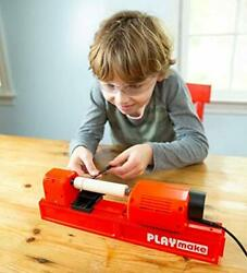 Playmake Kidsandrsquo 4-in-1 Woodshop Carpentry Cool Tool With Jigsaw Lathe Drill
