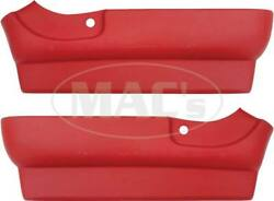 1961-1963 Ford Thunderbird Seat Side Skirts Red 66-33924-1