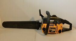 Poulan Pro 46cc Chainsaw Pp4620avx W/ 20 Bar/chain And Black Protective Cover