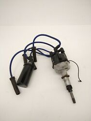 Mercruiser 4 Cylinder Distributor With Coil And Wires - Used