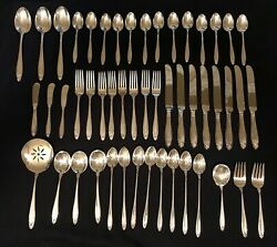 Prelude By International Silver 1939 Sterling Silverware 50 Pieces