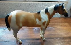 Bryer Traditional Model Horse Painted Tan Cream amp; Black Majestic Great Shape