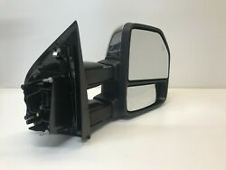 2015 - 2018 Ford F-150 Right Powered Tow Mirror Telescoping, Puddle, Oem