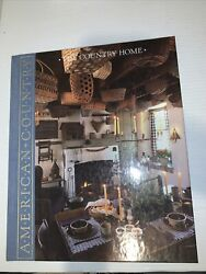 Time-life Books American Country Country Home Hardcover 1989