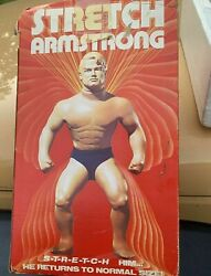 Stretch Armstrong Kenner 1976 With Original Box - Vintage