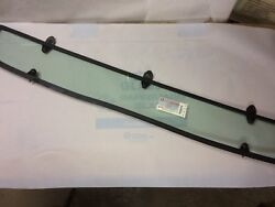 Viper Rear Window Rt-10 New Real Glass And Seal W/sloping Pins Attachment