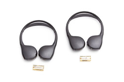 Gm Accessories 22863046 Dual-channel Wireless Infrared Ir Headphones Set Of Two
