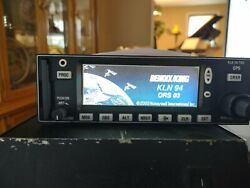 Bendix King Kln 94 Gps Display 069-01034-0101 Benched And Yellow Tagged W/8130