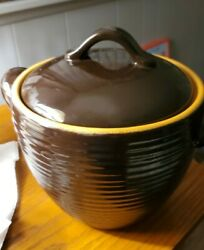 Bobby Flay Plancha Bean Pot Earthenware New Without Tags