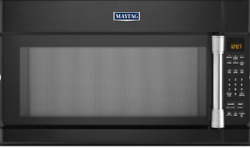 Maytag Black Over-the-range Microwave Oven With 1000 Watts Mmv4205de