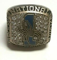 National 2008 Ncaa Champions Jackson Family Spiders Richmond Size 13 Ring