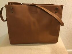 American Leather Company- Lenox Satchel- Cafe Latte- New With Tags