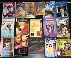 Lot 16 African American Black Character Children's YA Chapter Books