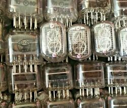 Used Lot Of 228 Pcs In-12 Ab Vintage Ussr Nixie Tubes For Clock Tested