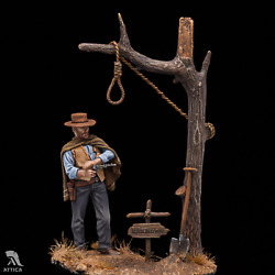 In Stock The Man With No Name Painted Tin Toy Soldier Miniature Pre-sale | Art