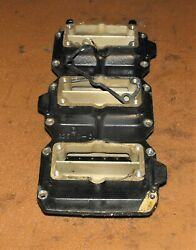 Mercury 250 Hp 2 Stroke Adapter Plate And Reed Block Pn 825178t5 Fits 1995-2001