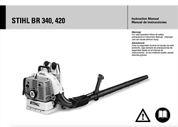 Stihl Br420c Magnum Commercial 57cc Backpack Blower