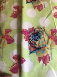 Curiouser And Curiouser By Tula Pink- Painted Roses In Sugar - 13 + Yard