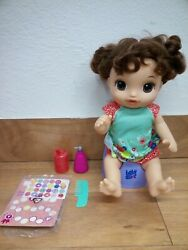 Baby Alive E0610 Potty Dance Talking Brown Hair Doll