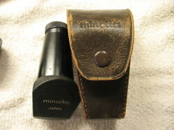 Antique Minolta Angle View Finder W/case Sr-1 Series Free Shipping