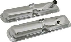 Ford And Mercury Windsor V8 Chrome Valve Covers - 289 Hipo Style