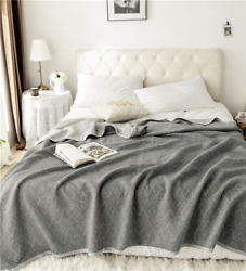 2021 Sofa Travel Plane Super Soft Breathable Thin Quilt Bedspread Quilt