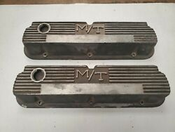 Ford Sb Mickey Thompson M/t Valve Covers 260 289 302 351 Mustang Comet J17055