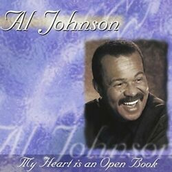 Al Johnson-my Heart Is An Open Book Us Import Cd New