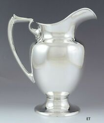 Antique/vintage C1940 Classic Fisher Sterling Silver Large Size Water Pitcher