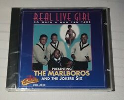 The Marlboros Real Live Girl Cd Sealed Brand New 1995 Collectables Col-0610