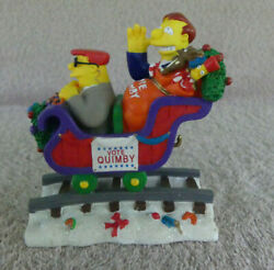 Simpsons Christmas Express Train Merry Christmas Vote Quimby 2004