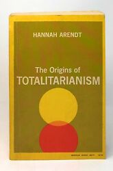 Hannah Arendt / The Origins Of Totalitarianism Signed 1968