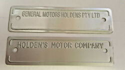 Australia Built Gm Holden Or Holdens Motor Data Plate Compliance Tag Choice