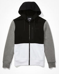 American Eagle Ae Active 24/7 Zip Up Colorblock Hoodie - Menand039s Small