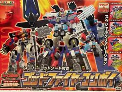 Takara 2000 Transformers God Fire Convoy Toysand039rand039us Limited Clear Version Mint