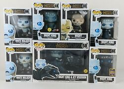 Game Of Thrones Got Night King/ Villain Bundle Sdcc 2017 Shared Excusive Funko