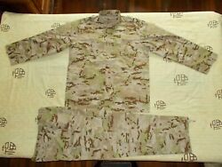 Unknown Country Army Desert Camouflage Combat Jacket、pantsmilitary Uniforma