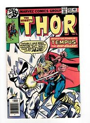 Thor 282 Fn 6.0 1st Appearance Time Keepers Loki Series