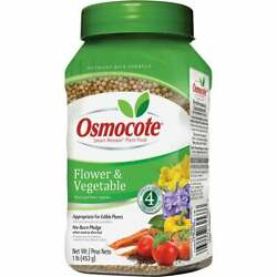 Osmocote 1 Lb. 14-14-14 Flower And Vegetable Smart Release Dry Plant Food Pack Of