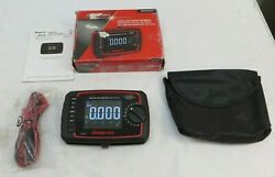 Snap-on Eedm525f Digital Multimeter Enhanced W/color Screen And Test Leads