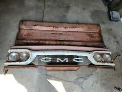 Vintage 1960 1961 1962 1963 1964 1965 1966 Gmc Truck Grille Tailgate Wall Art