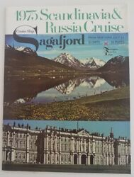 Sagafjord Norwegian America July 11 1975 Russia Cruise - Deck Plan And Photos