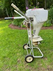 Sears Ted Williams 7.5 Outboard Boat Motor Vintage Mcculloch No Tank/stand 1960s