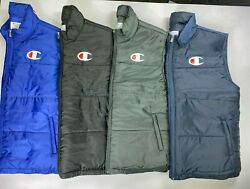 Menand039s Big And Tall Champion Full Zip Puffer Vest